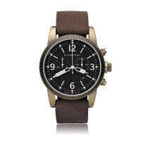 巴宝莉(BURBERRY)手表 皮表带圆形数字男士石英腕表BU7805/bu7811
