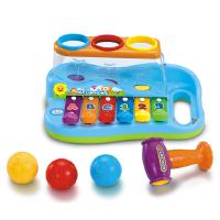 玩具856智慧八音琴宝宝手敲琴敲打琴玩具儿童八个月音乐玩具