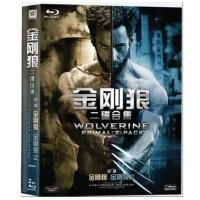 正版 蓝光碟金刚狼1、2合集1080P高清蓝光dvd电影碟片