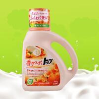 狮王(lion)TOP持久香氛洗衣液花果香型含柔顺剂 瓶装 900g