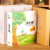 0-6岁宝宝成长纪念册diy手工相册儿童新生儿婴儿礼物影集SN8645