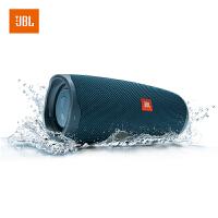 【当当自营】JBL Charge4 蓝色 音乐冲击波4 蓝牙小音箱 便携迷你音响 低音炮 防水设计 支持多台串联
