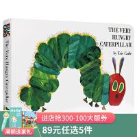 好饿的毛毛虫原版英文绘本The Very Hungry Caterpillar艾瑞卡尔Eric Carle宝宝早教英语启
