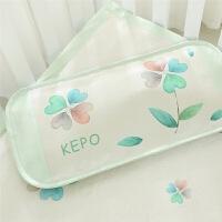 宝宝婴儿凉枕头荞麦壳0-1-3-6岁加长夏季儿童幼儿园凉席枕头