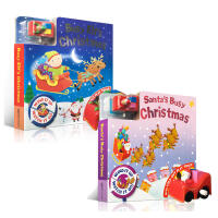 英文原版 Busy Elf's Christmas/Busy Day Board Santa's Busy Chris