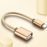OTG转接头Type-c转USB2.0数据线小米4c/5乐视1s转接头U盘