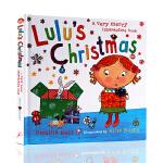 英文原版Lulu's Christmas 露露的圣诞节