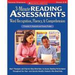 【预订】3-Minute Reading Assessments Prehension: Word