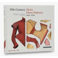 17th-Century Men's Dress Patterns 十七世纪男装图案 服装历史 服装设计书籍 服装设计作品集