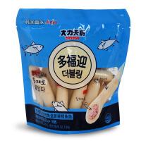 韩国多福迎金枪鱼蛋黄酱鳕鱼肠儿童休闲即食夹心肉肠进口零食400g