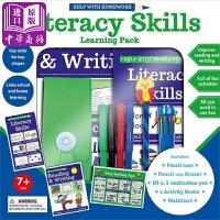 【中商原版】功课好帮手活动套装 读写技巧(7岁+)英文原版 Literacy Skills 儿童课外辅导练习