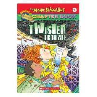 英文原版The Magic School Bus A Science Chapter Book Twister Tro
