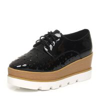 Teenmix/天美意春季专柜同款牛皮女单鞋6D921AM6