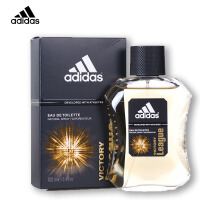阿迪达斯(adidas) 西班牙 原产 男士香水 冰点男款运动型 持久清新淡香水 League-征服-香水100ml