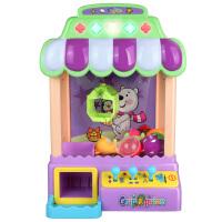 迷你抓娃娃机夹娃娃机儿童玩具夹公仔机小型家用投币机器生日礼物