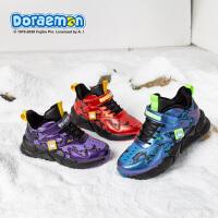 哆啦A梦男童棉鞋2020秋冬季新款中大童儿童运动鞋加绒加厚保暖鞋子DL4804907