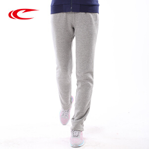 赛琪女运动裤长裤2017秋季新款加厚舒适针织长裤休闲裤保暖跑步裤