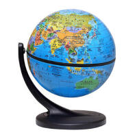 博目地球仪:11cm中英文政区地球仪(单支点万向支架) 9787503033025 北京博目地图制品有限公司 测绘出版