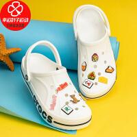 Crocs/卡骆驰男鞋女鞋新款运动鞋涉水鞋沙滩鞋拖鞋凉鞋洞洞鞋205089-126