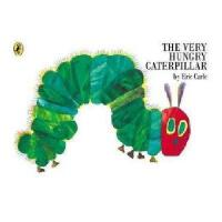 英文原版 The Very Hungry Caterpillar 好饿的毛毛虫(平装,英国版)