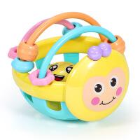 婴儿玩具球0-1岁 蜜蜂软牙胶手摇铃手抓球玩具 儿童节礼物 蜜蜂摇铃(opp)