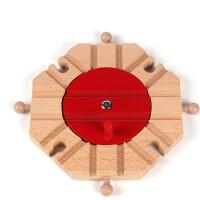 木质吊桥 磁性木制托马斯小火车轨道散装配件 兼容布里奥轨道玩具 数量有限