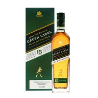 宝树行 尊尼获加绿牌15年750ml 调配型麦芽威士忌 苏格兰进口洋酒