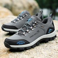 男鞋低帮鞋户外登山鞋徒步旅行鞋