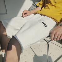 休闲短裤男2018夏季新款韩版潮流百搭男生裤子薄款宽松直筒运动裤