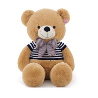 毛绒玩具熊泰迪熊公仔送女生生日礼物抱抱熊玩偶布娃娃熊猫抱枕毛衣熊七夕新年圣诞礼物SN5180
