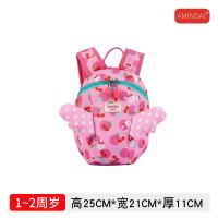 儿童小背包1-3岁宝宝书包可爱潮女孩双肩包幼儿园防走失女童时尚