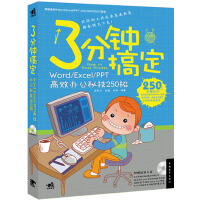 3分钟搞定:Word/Excel/PPT高效办公秘技250招(1DVD)