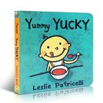 顺丰发货 英文原版正版 Yummy Yucky 名家Leslie Patricelli幼儿启蒙纸板书绘本board b