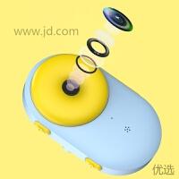 【新品】小黄人儿童相机可拍照女学生抖音玩具防水六一儿童节礼物生日 甜甜圈裸机 赠送16G内存卡