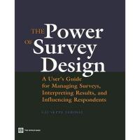 【预订】The Power of Survey Design: A User's Guide for