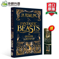 神奇动物在哪里英文原版 哈利波特电影书英文版Fantastic Beasts and where to find th