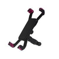 蛇蝎龙 自行车手机支架 通用型电动摩托山地车架单车手机支架黑色官方标配