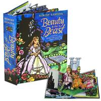 美女与野兽 英文原版 立体书beauty and the beast hop up book美女野兽3-8岁