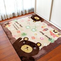 地毯卧室客厅茶几床前床边地垫家用可机洗爬行垫