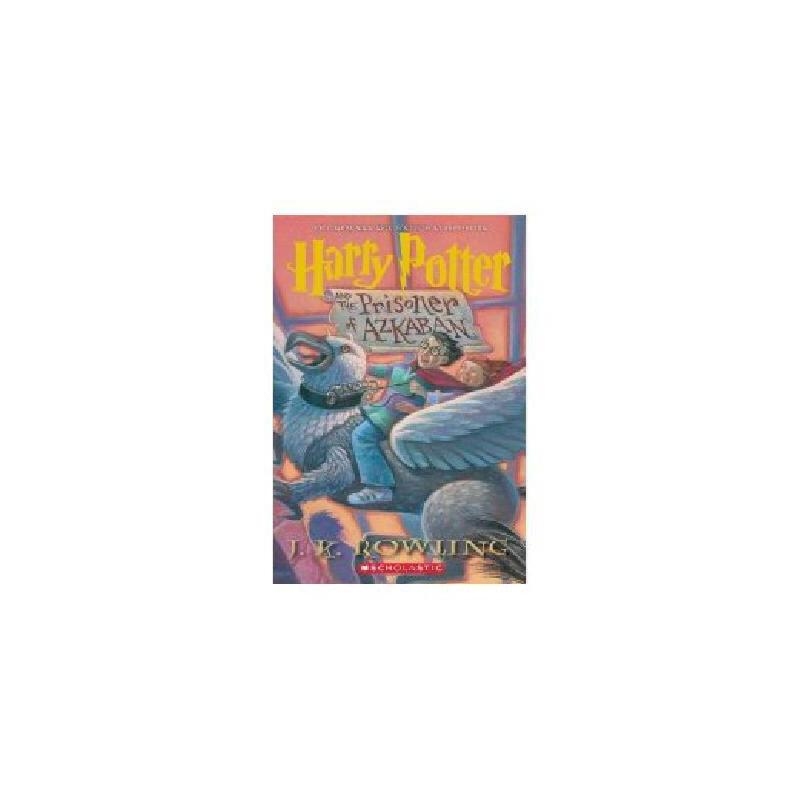 【现货】英文原版 哈利波特和阿兹卡班的囚徒 卷3 Harry Potter and the Prisoner of Azkaban 经典美版 国图进口,原版保证!