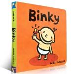 【发顺丰】英文原版 Binky 名家Leslie Patricelli 英语入门启蒙认知 早教纸板书 幼儿生活习惯日常