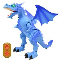 电动恐龙玩具侏罗纪模型儿童塑胶大号仿真遥控霸王龙动物套装男孩