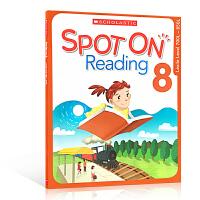 【全店300减100】英文原版 Scholastic Spot On Reading 8 学乐小学五年级阅读练习作业理解