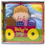 【预订】Baby's Day:Cloth Book 进口英文原版 卡伦卡茨幼儿布书翻翻书