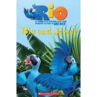 Popcorn Readers: Rio: Blu and Jewel with CD 里约大冒险 有声读物