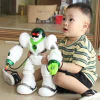 儿童遥控机器人智能对话会走路跳舞机械战警男孩电动玩具3-10岁