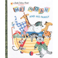 Mr. Noah and His Family (Little Golden Book)诺亚和动物家庭(金色童书)IS