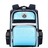 卡拉羊小学生书包1-3-4-6年级男女童小孩韩版减负儿童双肩背包男防水CX2657