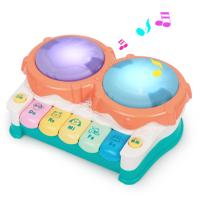 宝宝手拍鼓音乐拍拍鼓婴儿玩具6-12个月玩具儿童0-1岁