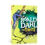 英文原版进口 Roald Dahl 罗尔德 达尔 The Twits 蠢特夫妇 桥梁章节书 儿童小说课外读物 可搭配巧